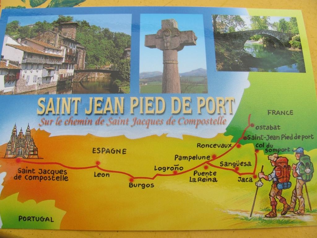 15 etape dimanche 07 juin saint jean pied de port - Distance st jean pied de port st jacques de compostelle ...