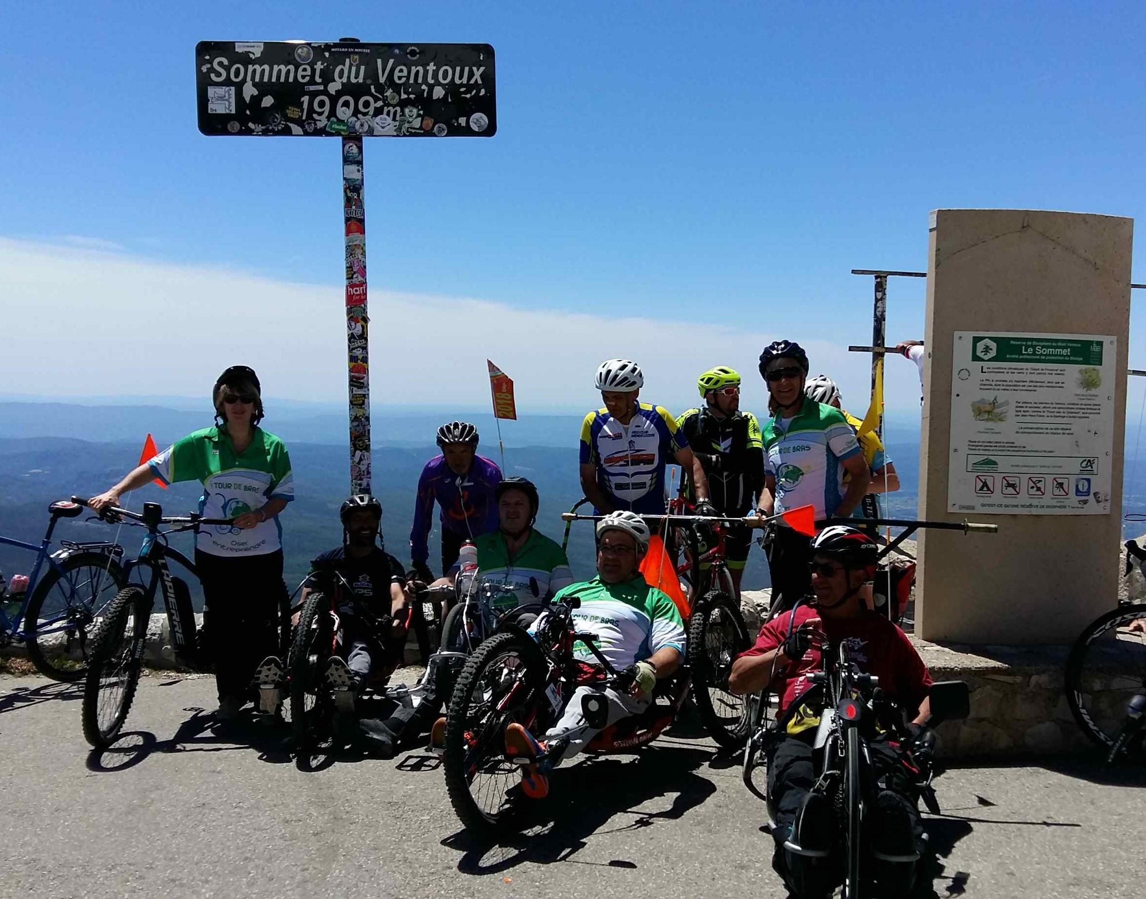Beau temps au Mont Ventoux
